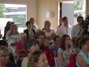 Fullsatt seminarium (Eva Corp SLV, Agnetha Dreber LI, Annika Åhnberg m fl.)