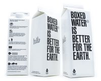 Boxed water is better for earth