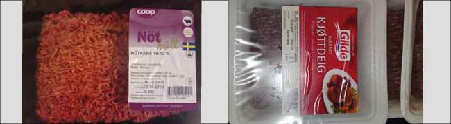Norskt och svenskt kött