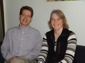 Helen Williams och Fredrik Wikström