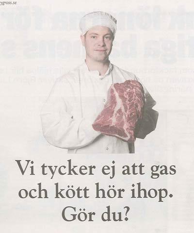 citygross annons om kött och gas
