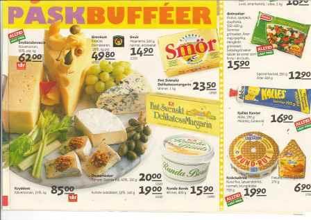 Konsums annonsblad mars 1993