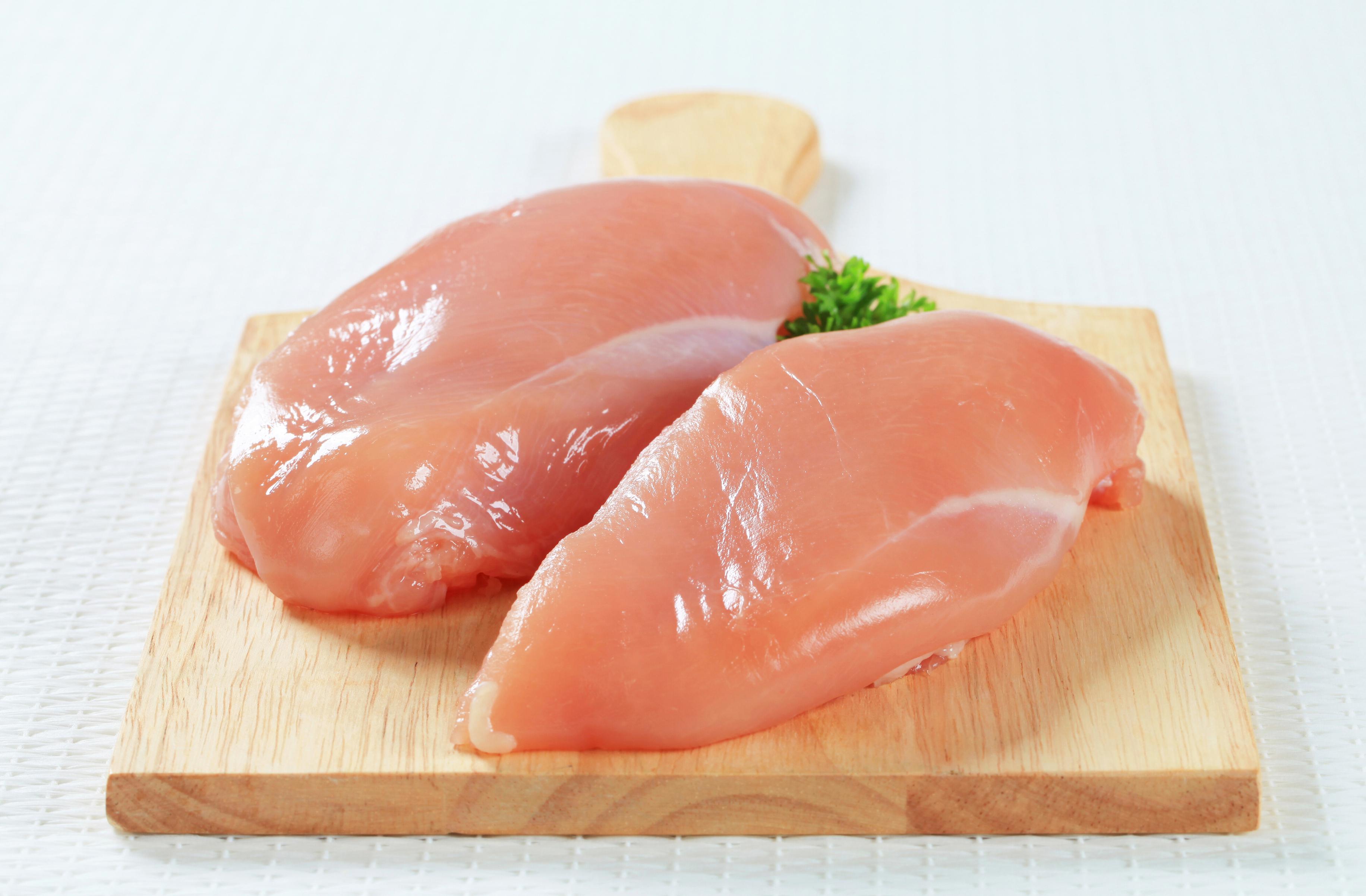hur mycket väger en grillad kyckling