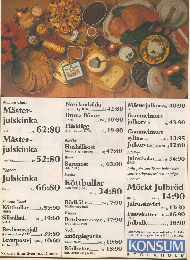 Annonsblad 1988
