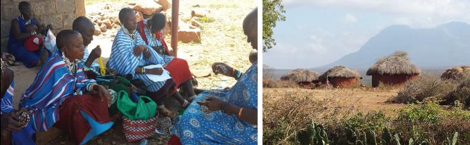 Masajerna och deras hyddor