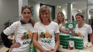 """Cops projektgrupp för """"Knasiga grönsaker"""" med Louise König, hållbarhetschef, i spetsen"""