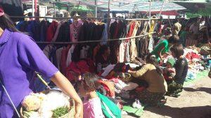 Marknad i Myeik, Burma